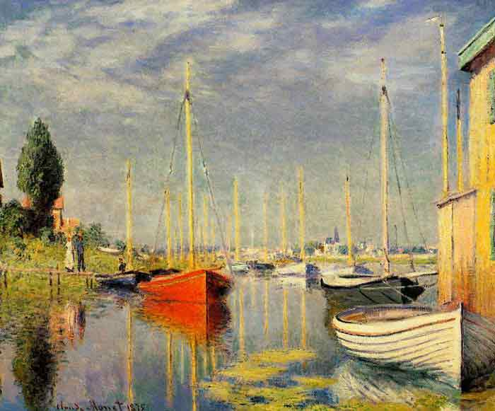 Yachts at Argenteuil, 1875