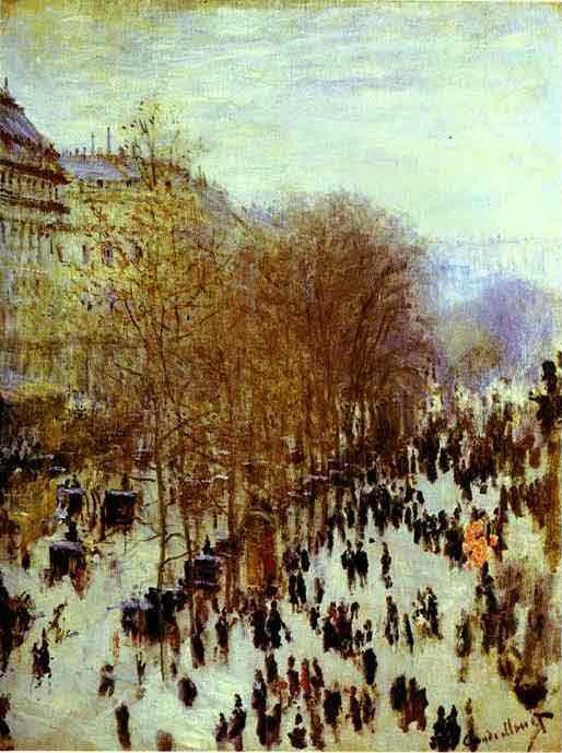 The Boulevard des Capucines 1873.