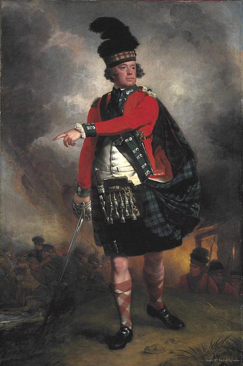 Hugh Montgomerie, 12th Earl of Eglinton. 1780