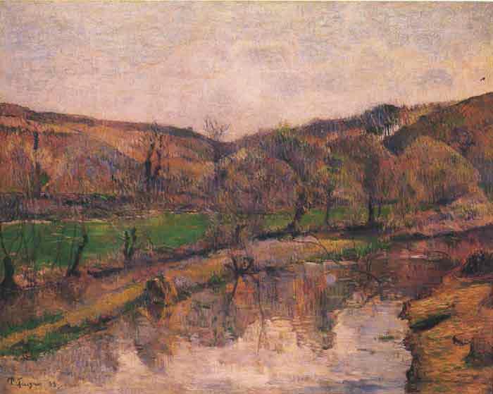 Landscape in Bretani, 1888