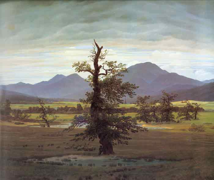 Landscape with Solitary Tree, 1822