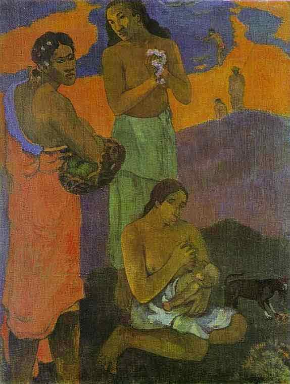 Motherhood (Women on the Shore). 1899