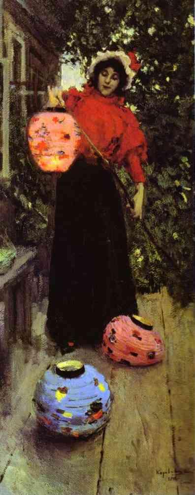 Paper Lanterns. 1898