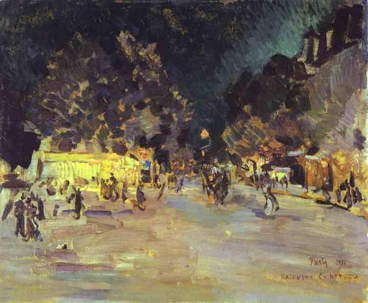 Paris at Night. 1911