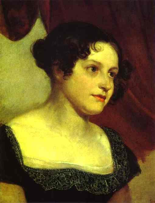 Portrait of A. F. Furman. 1815