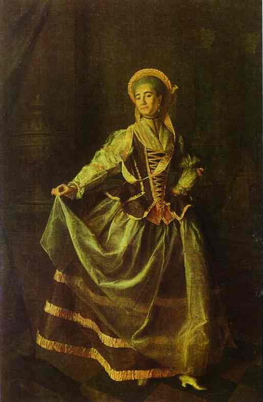 Portrait of A. P. Levshina. 1775