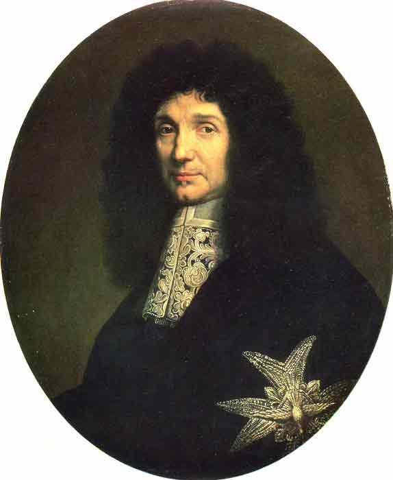 Portrait of Colbert, 1672