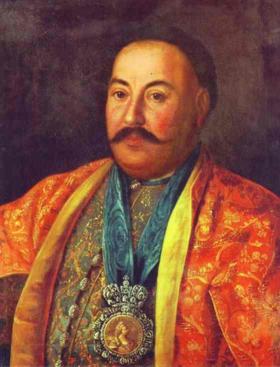 Portrait of F. Krasnoschiokov. 1761