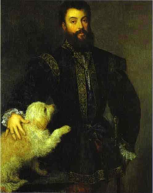 Portrait of Federico II Gonzaga. 1523