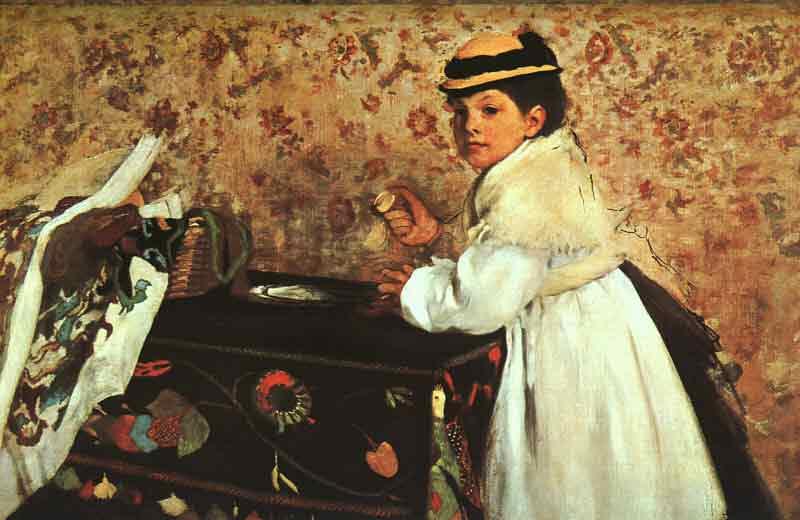 Portrait of Hortense Valpin?on