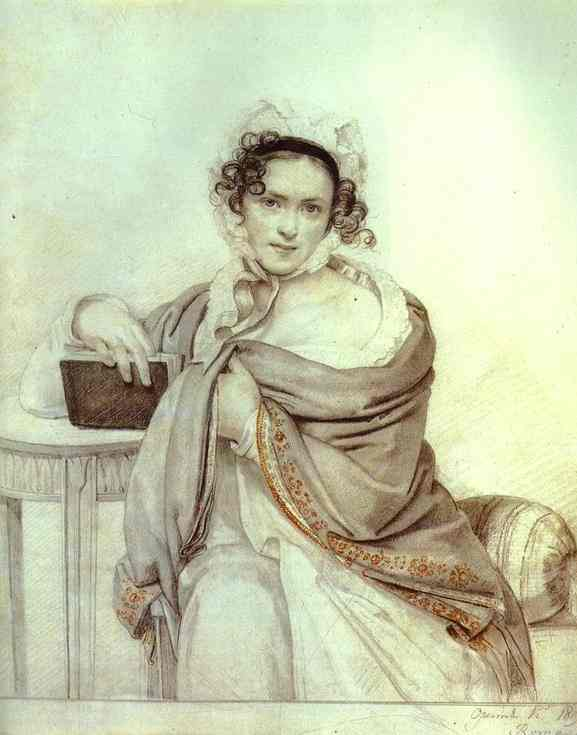Portrait of the Princess S. S. Scherbatova. 1819