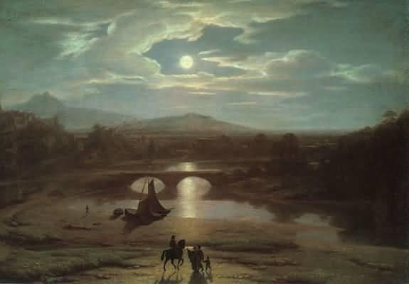Richard Parkes Bonington Les Salinieres by Trouville