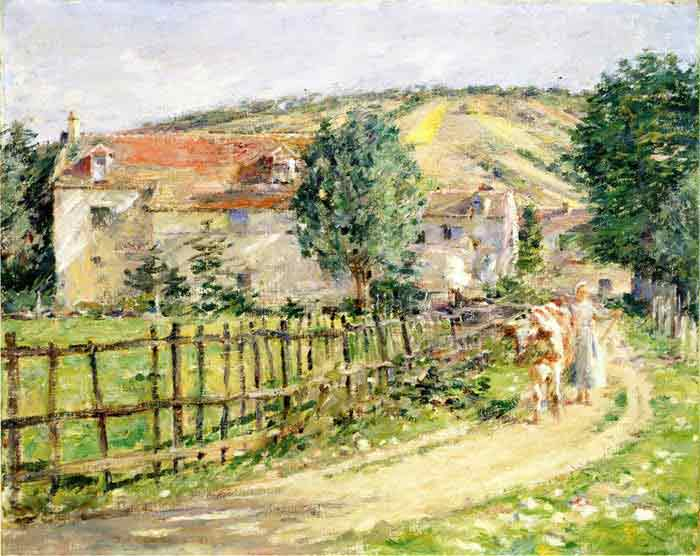 Road by the Mill, 1892