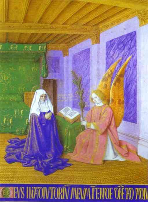 Second Annunciation c. 1453