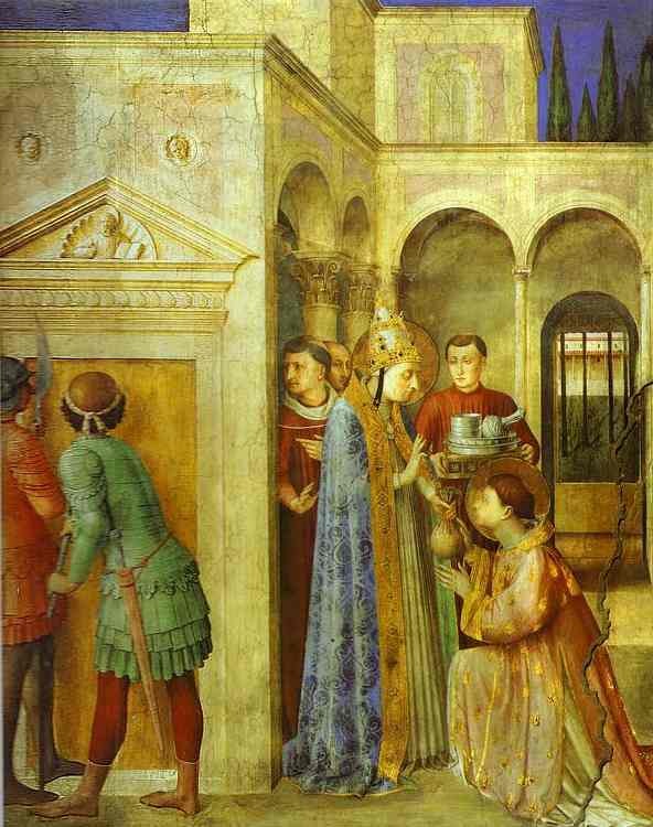 St. Stephen Preaching. 1447