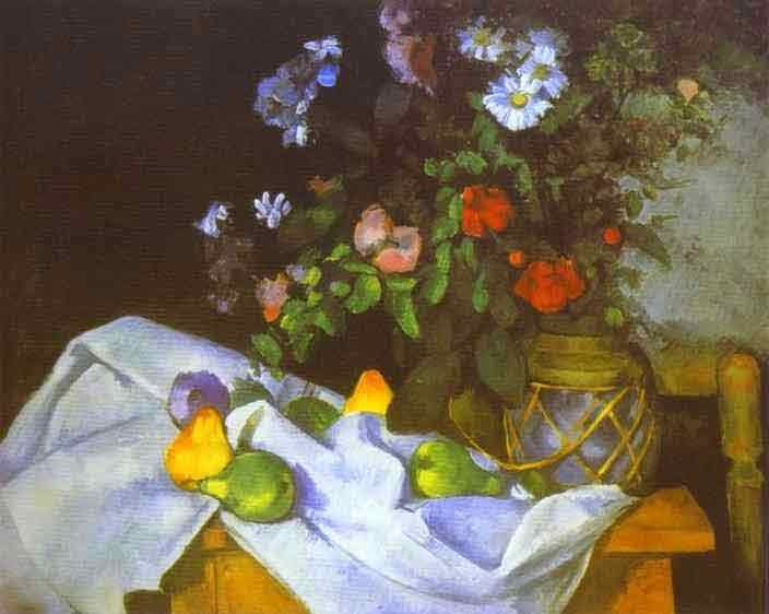 Still Life with Flowers and Fruit. 1888-1890