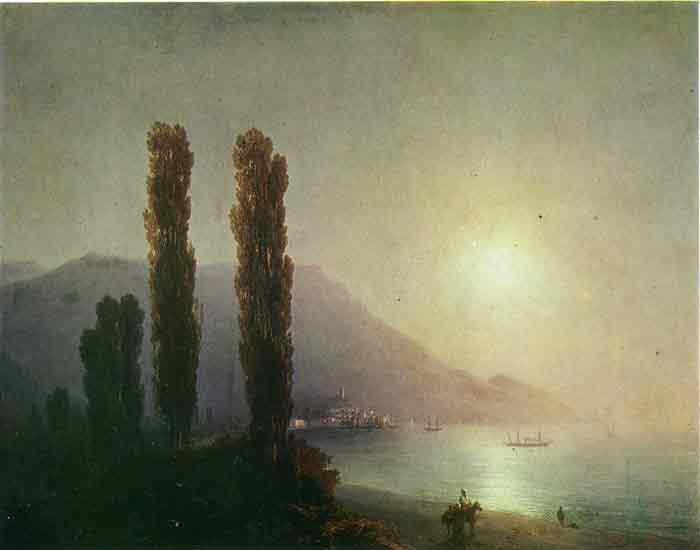 Sunrise in Yalta, 1878