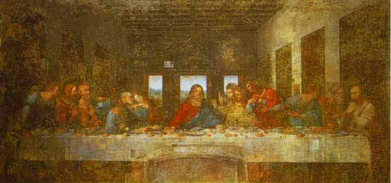 The Last Supper. c.1495