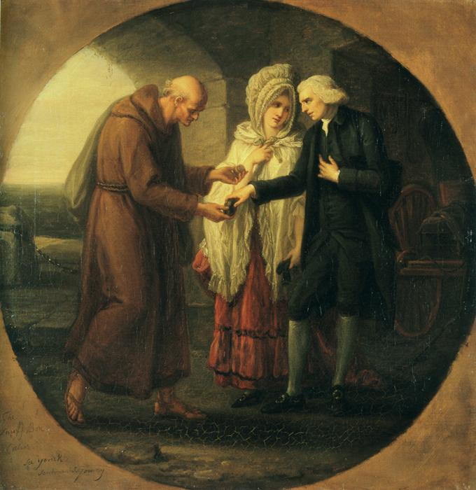 The Monk of Calais. c.1766