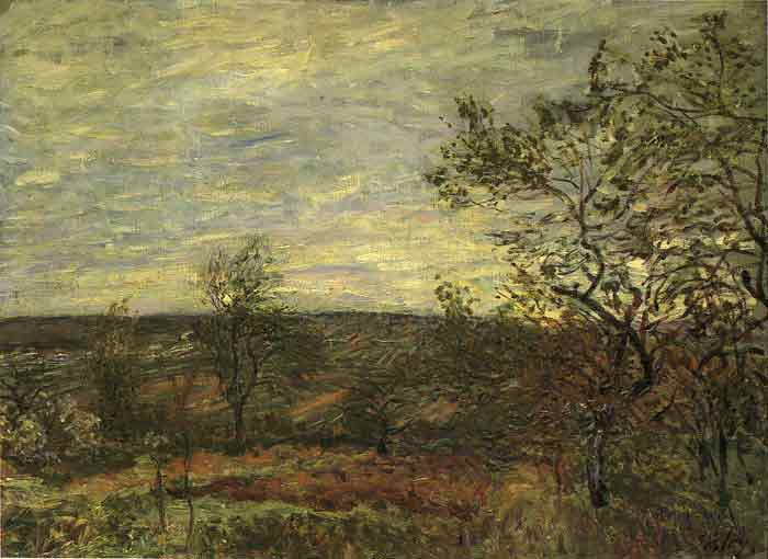 Windy Day at Veneux, 1882