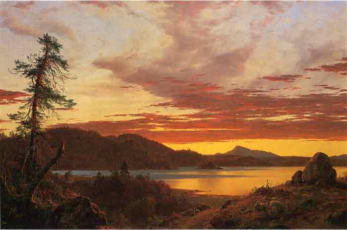 Sunset, 1856