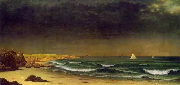Approaching Storm, Beach Near Newport, c.1866-1867