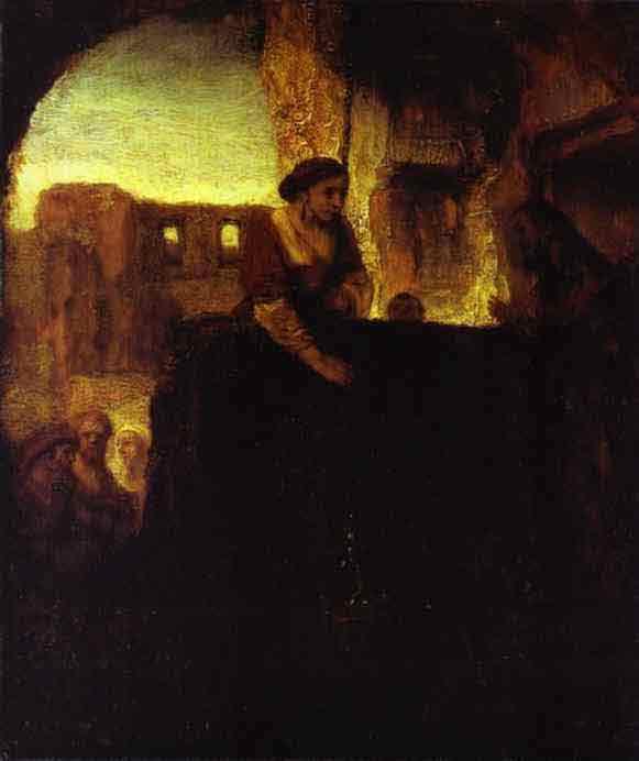 Christ and the Woman of Samaria. 1659