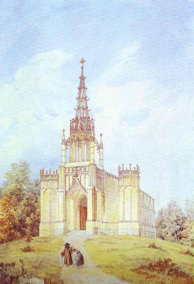 Church of St. Catherine in Pargolovo. C.1831