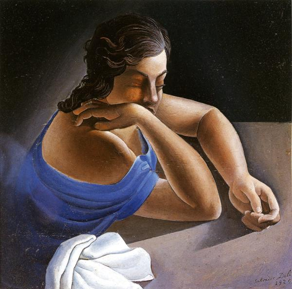 Figure at a Table (Portrait of My Sister). 1925