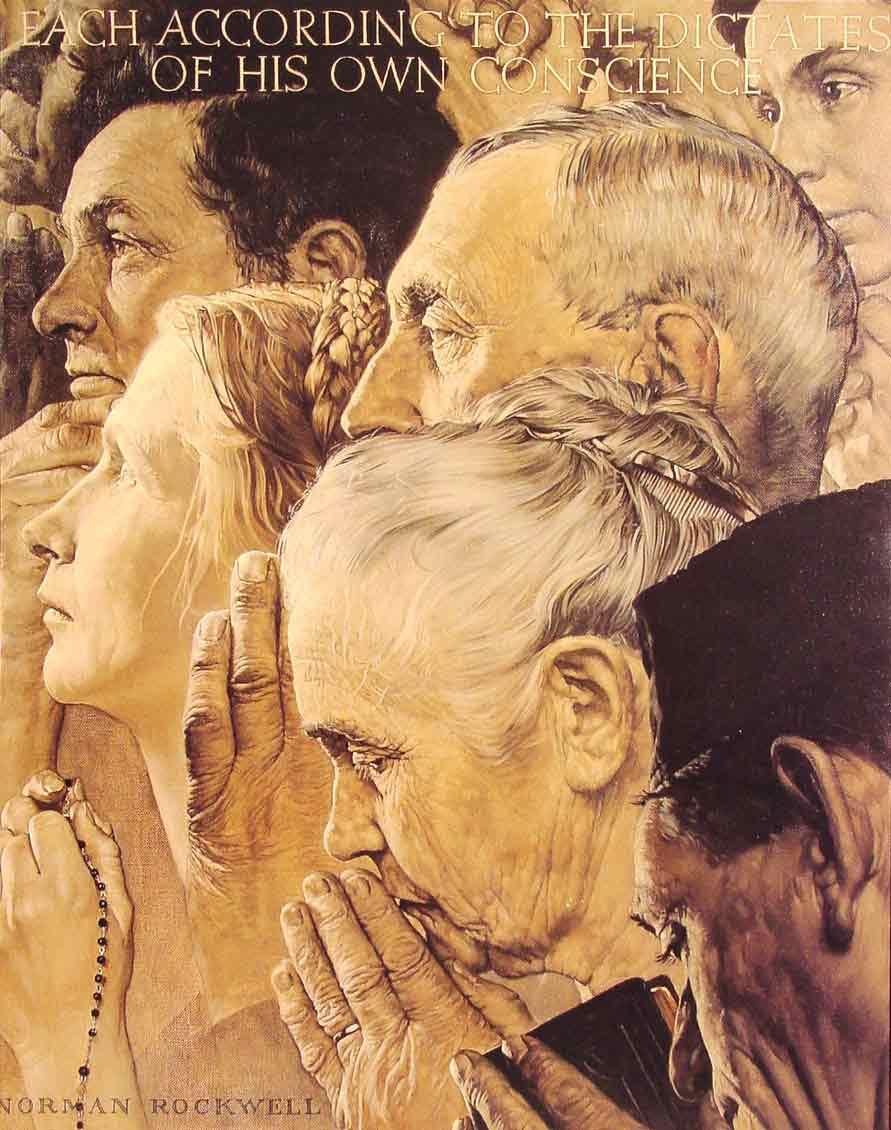 Freedom to Worship,1943