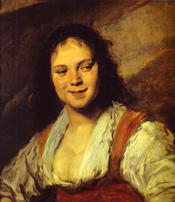 Gypsy Girl. c. 1628