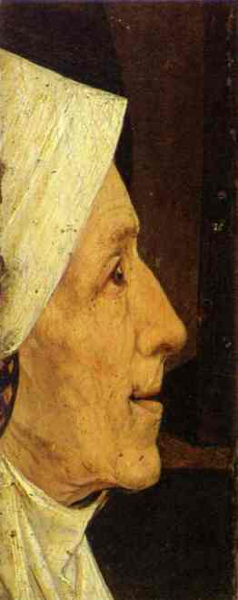 Head of a Woman (detail).