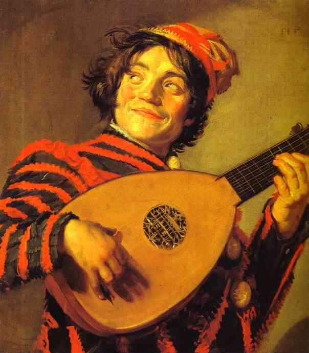 Jester with a Lute.