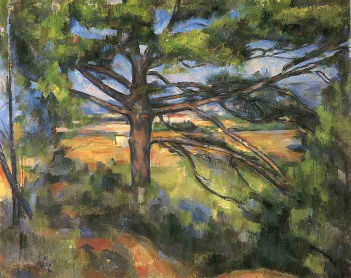 Large Pine and Red Earth, 1897