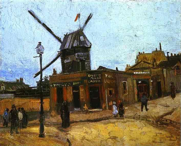 Le Moulin de la Galette. 1886