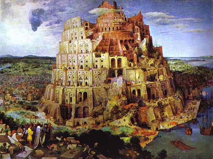 The Tower of Babel. 1563