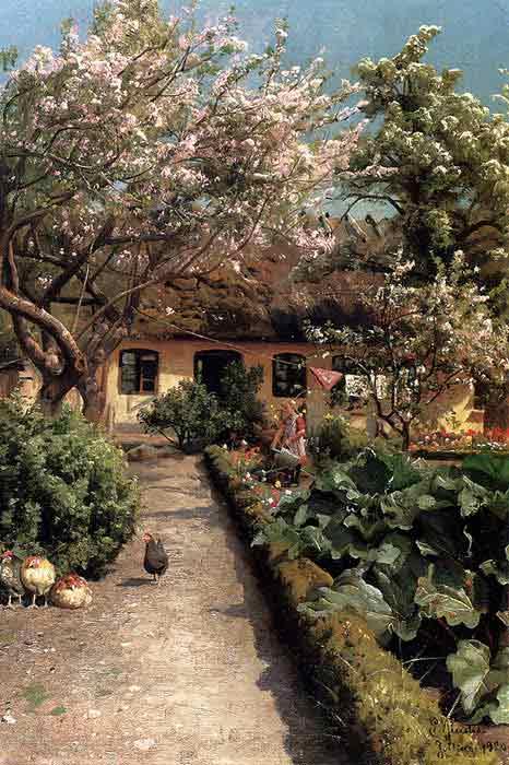 Watering The Garden, 1920