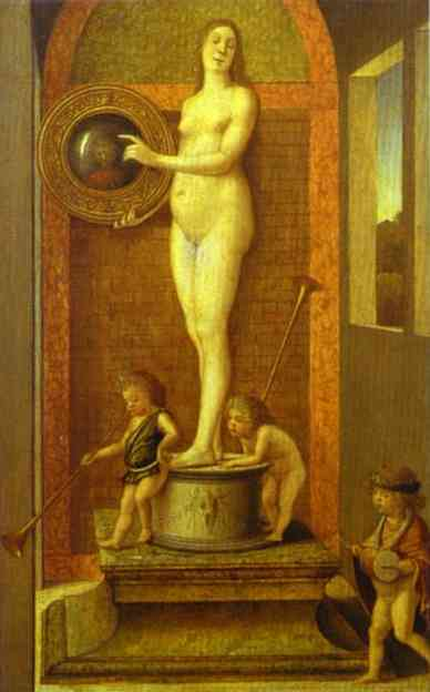 Allegory of Prudence. c.1490