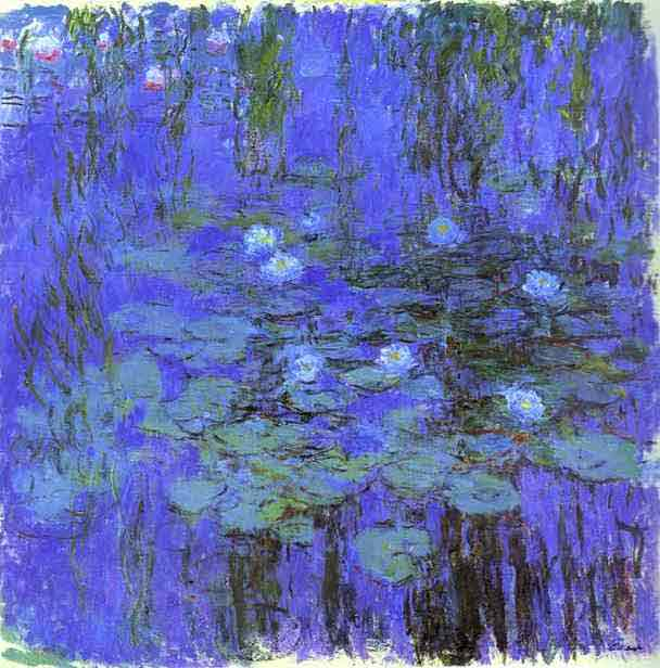 Blue Water Lilies 1916-1919.