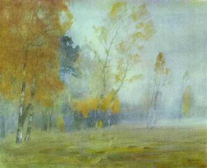Fog. Autumn. 1899