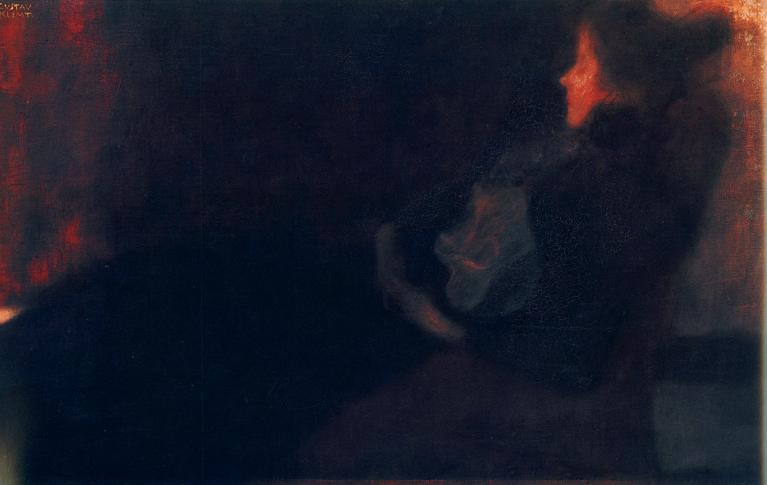 Lady by the Fireplace. 1897