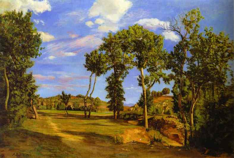 Landscape on the Shore of Lez. 1870