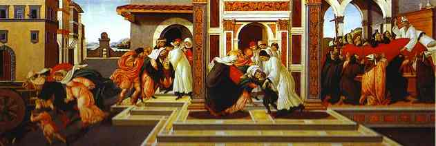 Last Miracle and the Death of St. Zenobius. c.1500-1505