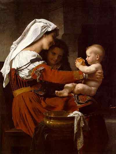Maternal Admiration,1869