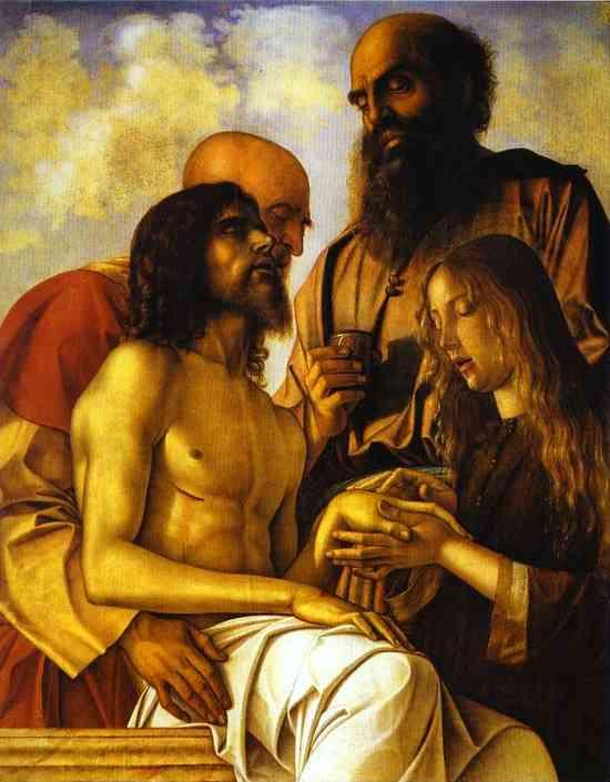 Pesaro Altarpiece. Piet
