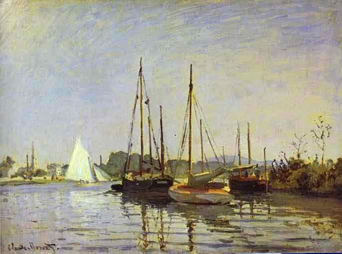 Pleasure Boat, Argenteuil 1872.