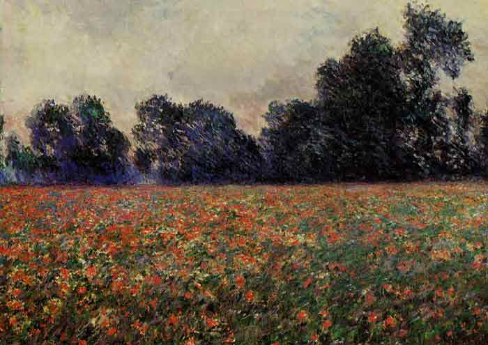 Poppies at Giverny, 1887