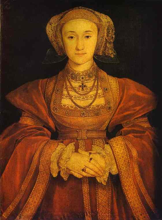 Portrait of Anne of Cleves. c. 1539