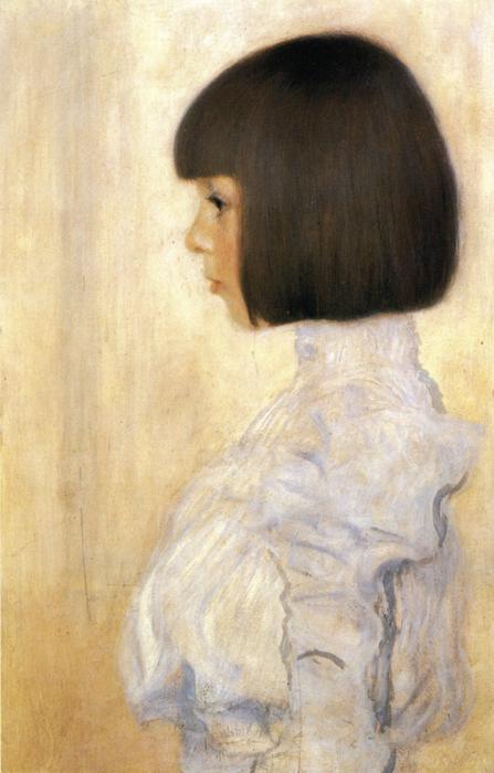 Portrait of Helene Klimt. 1898