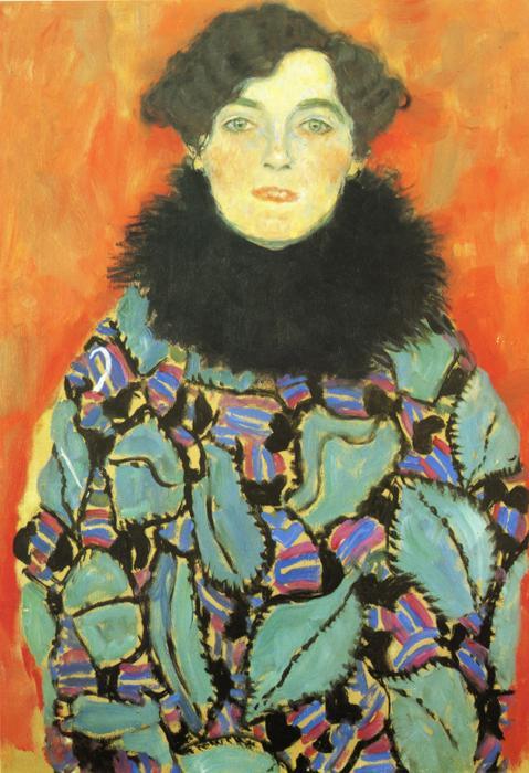 Portrait of Johanna Staude. 1917